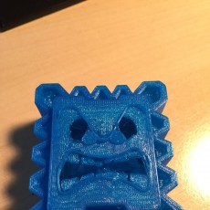 Picture of print of Thwomp Magnet (New Super Mario Bros U) This print has been uploaded by Christophe D.