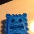Thwomp Magnet (New Super Mario Bros U) print image