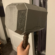 Picture of print of Life Size Thor's Hammer (Mjolnir)