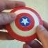Mini Captain America Shield Magnet image