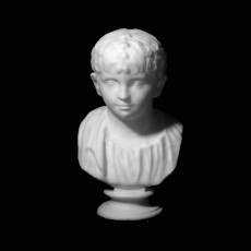 Bust of a Child at The State Hermitage Museum, St Petersberg