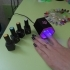 UV LED nail lamp. image