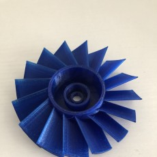 Picture of print of AXIAL TURBINE WHEEL