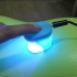 Tiny manicure LED lamp. image