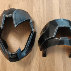 Picture of print of Wearable Graviton Forfeit Hunter Helmet From Destiny.