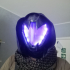 Wearable Graviton Forfeit Hunter Helmet From Destiny. print image