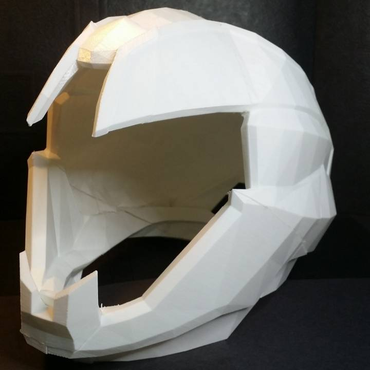 3d Printable Wearable Graviton Forfeit Hunter Helmet From