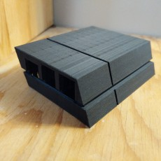 Picture of print of PS4 Raspberry Pi Case