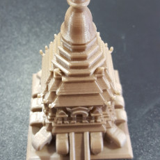 Picture of print of Elephant Chedi - Wat Chiang Man