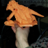 Dragon Knocker print image