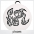 Pendants. Zodiac signs. Water. image