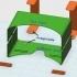 Printed Google Cardboard image