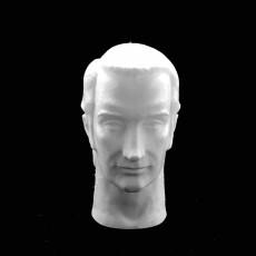 Bela Karolyi bust in Deva, Romania