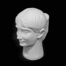 Nadia Comăneci bust in Deva, Romania