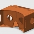 Printed Google Cardboard (version 1.2) image