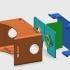 Printed Google Cardboard (version 1.2) image