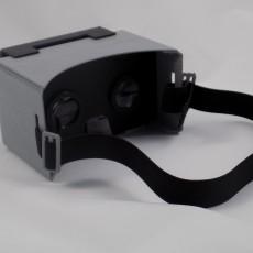 3D printed Google Cardboard kit
