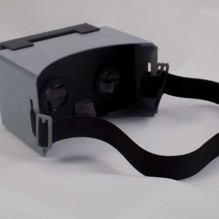 3D printed Google Cardboard kit