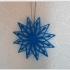 Snowflake blue image