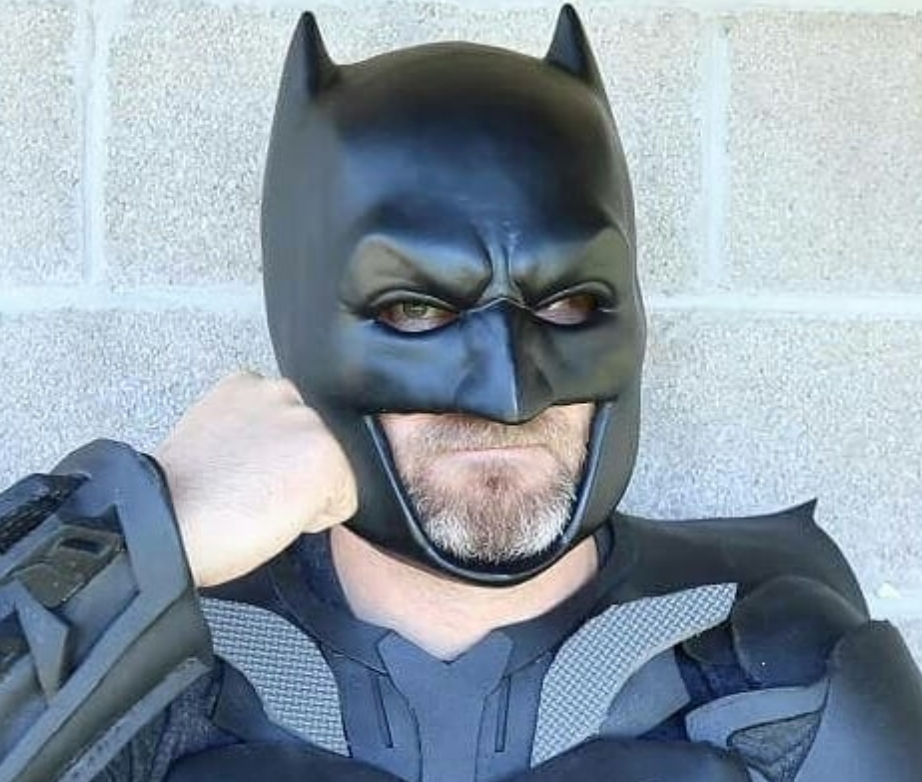 3d printable batman cowl by carmelo nazario