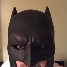 Picture of print of Batman Cowl 这个打印已上传 Orlando R