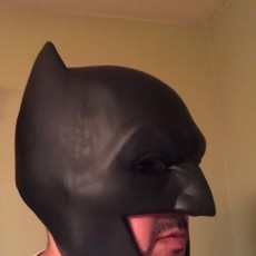 Picture of print of Batman Cowl This print has been uploaded by Orlando R