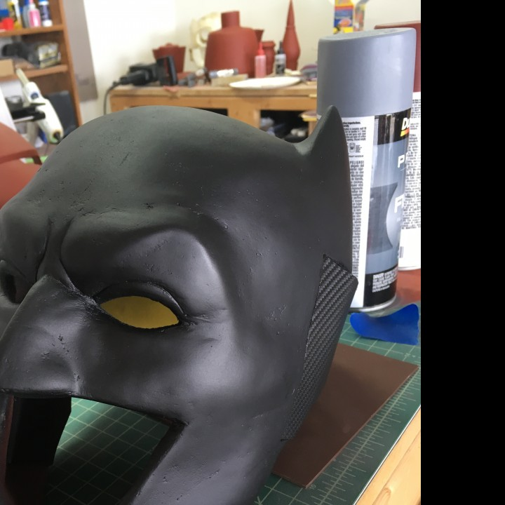 Picture of print of Batman Cowl This print has been uploaded by Daniel Coggins