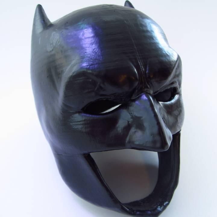 image regarding Printable Batman Mask referred to as 3D Printable Batman Cowl via Carmelo Nazario