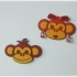 "Magnet ""Monkey Girl"" image"