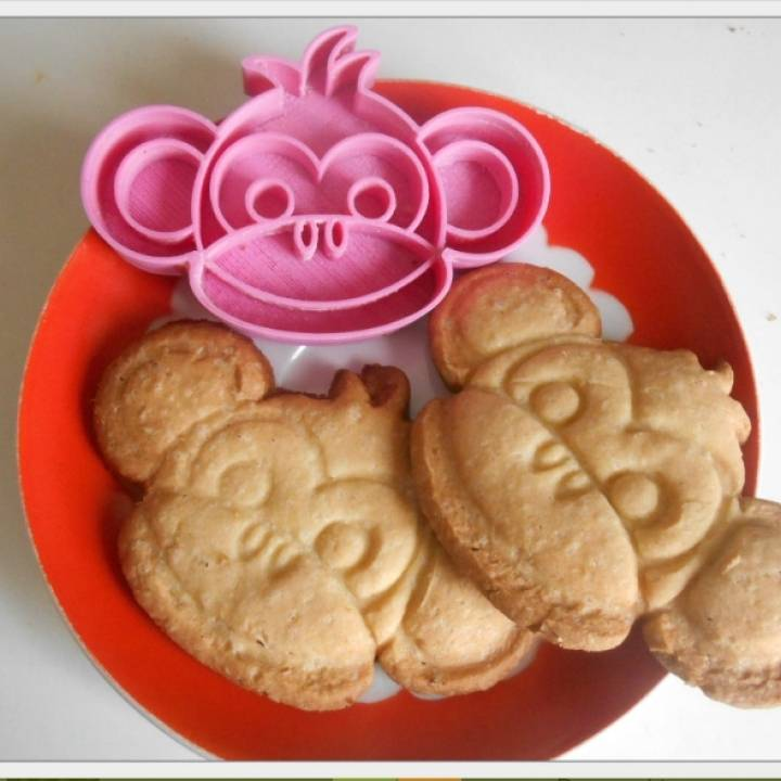Cookies cutter Monkey boy