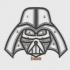 Darth Vader. Quilling image