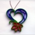 Quilling heart. image