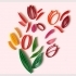 """Quilling """"Tulips"""". image"""