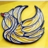 "Quilling ""Swan"" image"