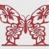 "Stand for napkins ""butterfly"" image"