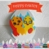 Chickens. Happy Easter! image