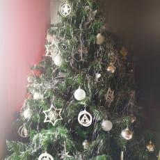 Euro christmas tree ornaments
