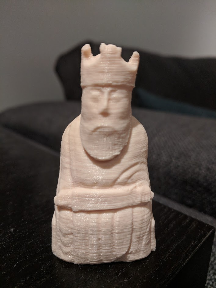 3D Print of The Lewis Chessmen at The National Museum of
