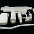 Toy gun - mini UZI 9mm submachine gun image