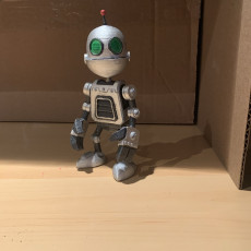 Picture of print of Clank Figure - Ratchet & Clank