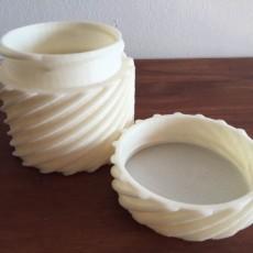 Twisted Screw Jar