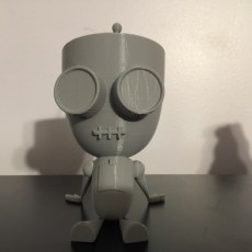 Picture of print of Gir From Invader Zim