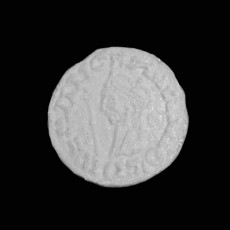 Silver coin at The British Museum, London