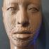Head of a Yoruba man at The British Museum, London print image
