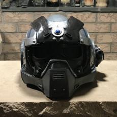 Picture of print of Gears Of War - Carmine's Helmet (wearable)