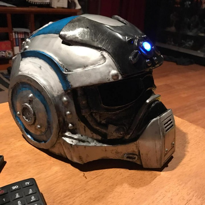 Picture of print of Gears Of War - Carmine's Helmet (wearable) This print has been uploaded by Nathan Lloyd Rocca