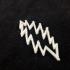 Grateful Dead Lightning Bolt Pendant image