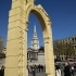 Arch of Triumph in Palmyra, Syria image