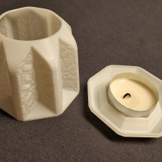 Picture of print of PANDORO TEALIGHT CANDLE HOLDER