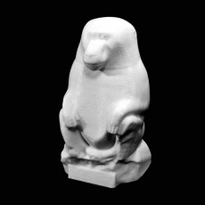 Toth in the form of a baboon at The Kiev Museum of Art, Ukraine